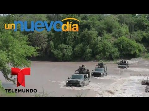 Sigue la cacería humana por el Chapo Guzmán | Un Nuevo Día | Telemundo