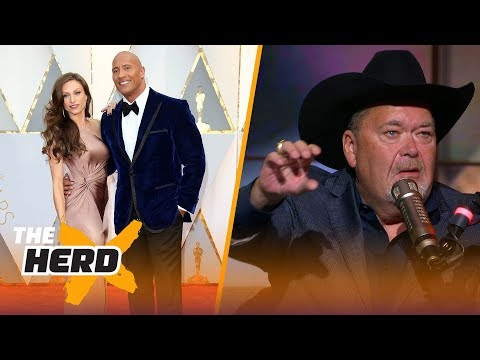 Jim Ross talks discovering The Rock, Hulk Hogan's legacy, Conor McGregor's WWE future | THE HERD