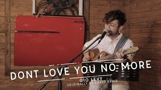 """EP19: Gio Levy - """"Don't Love You No More"""" (A Craig David cover) Live at Confessions"""