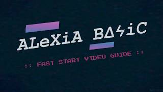 INCREMENT :: ALEXIA BASIC FAST START VIDEO GUIDE