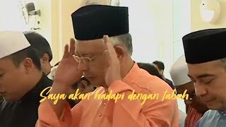 Challenging time for me and my family, says Najib