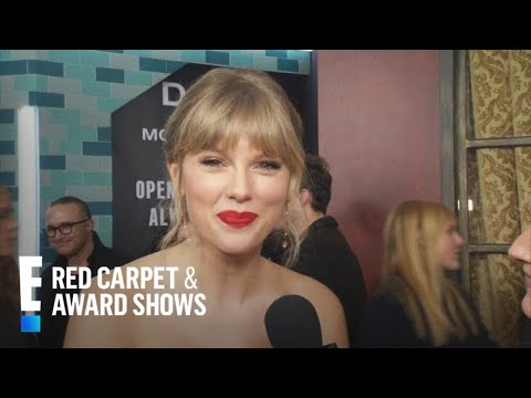 """Taylor Swift On """"Cats"""": """"You Can't Spell Cats Without T.S.""""   E! Red Carpet & Award Shows"""