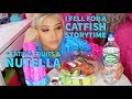 I FELL FOR A CATFISH STORYTIME + EATING FRUITS & NUTELLA