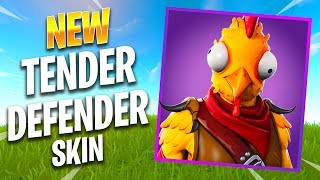NEW TENDER DEFENDER SKIN - Fortnite Best Moments & Fortnite Funny Moments #234