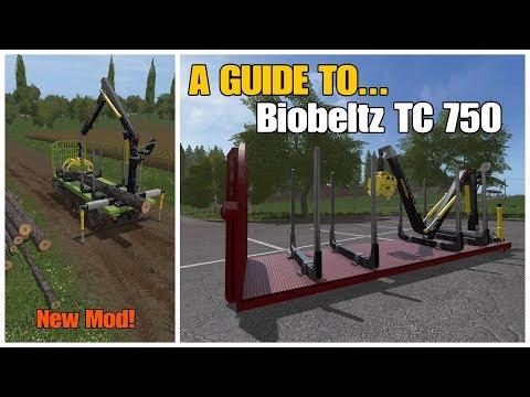 Farming Simulator 17 PS4: A Guide To... The Biobeltz TC 750 (New Mod!)