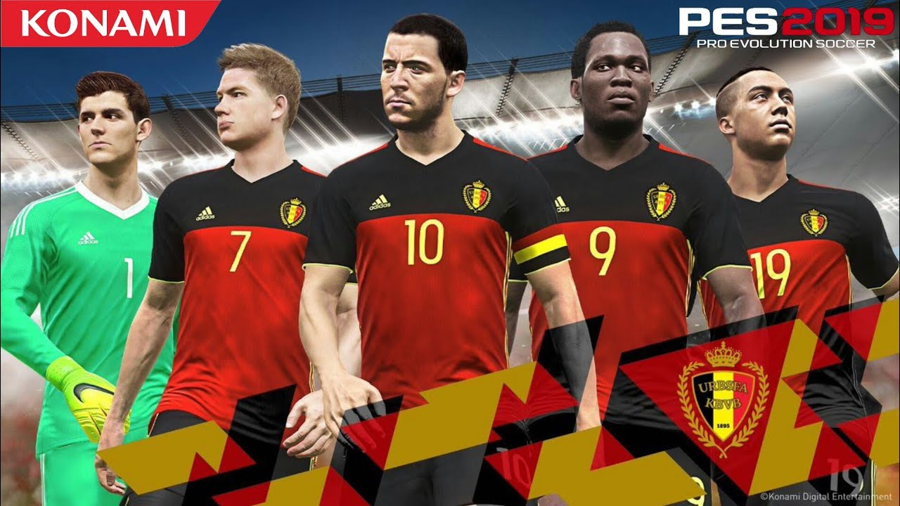 PES 2019 ALL NATIONAL TEAMS SQUAD | myClub Master League