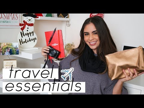 My Travel Essentials | Jessica Neistadt