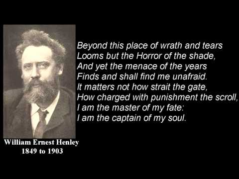 Invictus ~ poem by William Ernest Henley with text