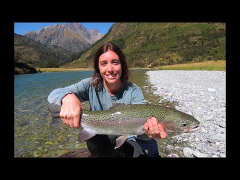 New Zealand back country fly fishing with Alpine Fishing Guides and Lauren Pattee