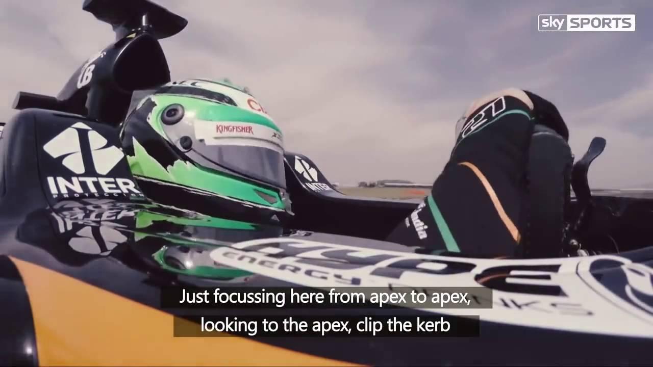 F1 Car Eye tracking with Nico Hulkenberg