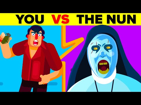 YOU vs VALAK (THE NUN) - Could You Defeat And Survive Her? (The Conjuring / The Nun Movie)