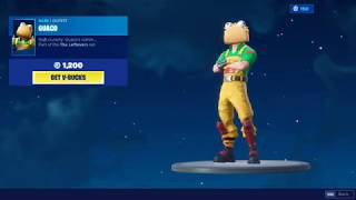 Fortnite New Item Shop Background TACO TIME!! - GUACO SKIN - Forever Tuesday Item Shop Update