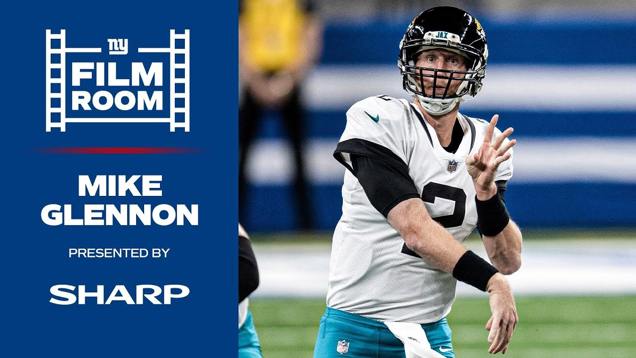 Film Room: Mike Glennon Brings Accuracy to QB Room | New York Giants