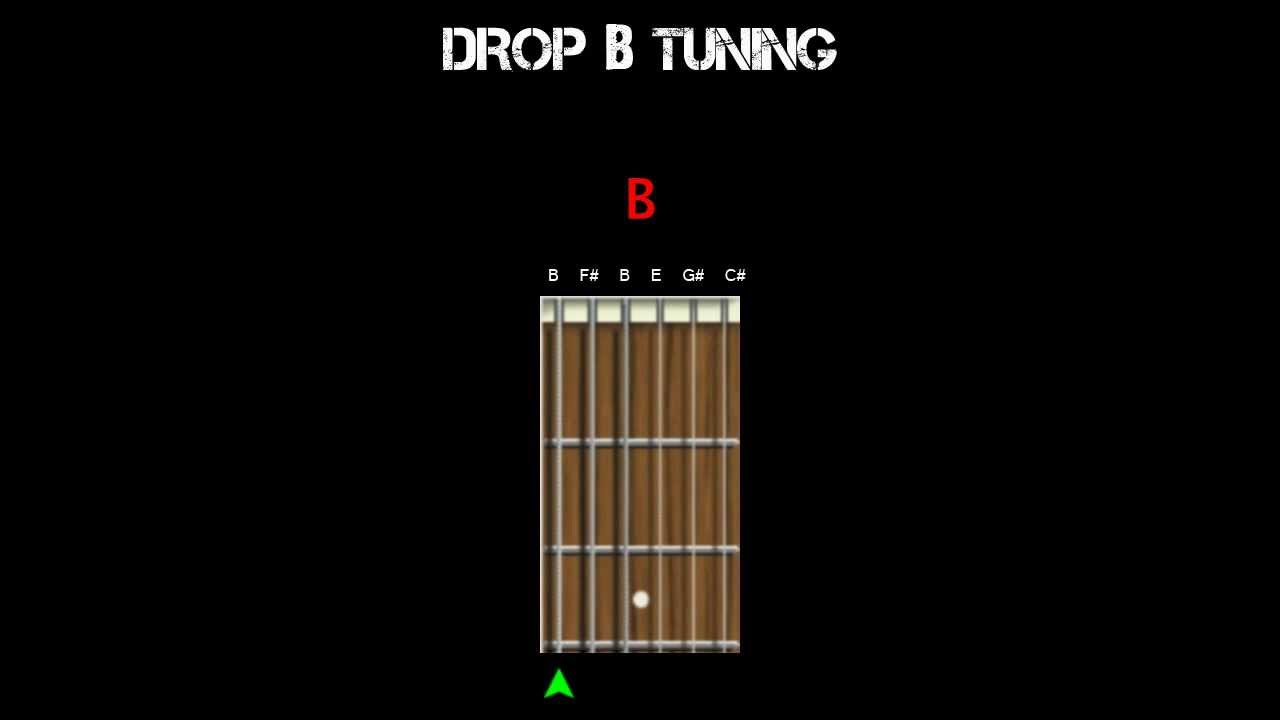 guitar tuning drop b youtube. Black Bedroom Furniture Sets. Home Design Ideas
