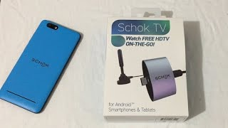 Schok TV Unboxing & Test Review. A Must Have HDTV On The Go