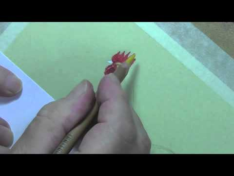 drawing a rooster using pastel pencils youtube