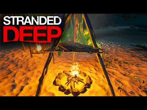 Stranded Deep | Survival Part 6 | FOOD & WATER SITUATION!!