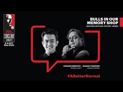 Shashi Tharoor Vs Vikram Sampath: Debating Heritage, History & Hubris | India Today Conclave 2021