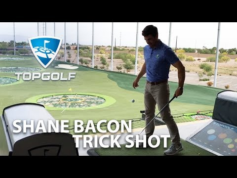 Shane Bacon Trick Shot | 2017 Topgolf Tour | Topgolf