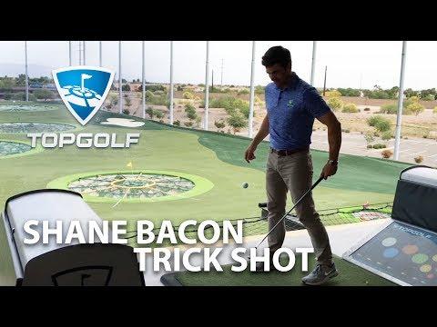 Shane Bacon Trick Shot | 2017 Topgolf Tour | Topgolf