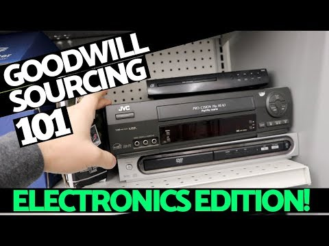 eBay For Beginners | How To Source Electronics at Goodwill!