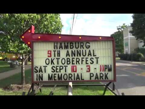 Farmers Market & Octoberfest, Hamburg, New York