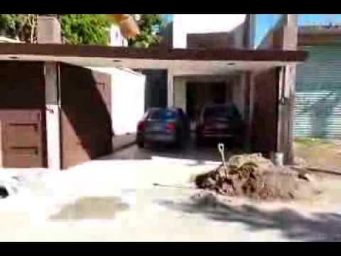 Port n autom tico levadizo de garaje para 2 autos doovi - Porton de garaje ...