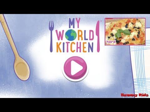 My World Kitchen Jigsaw Game Hard Gameplay For Kids