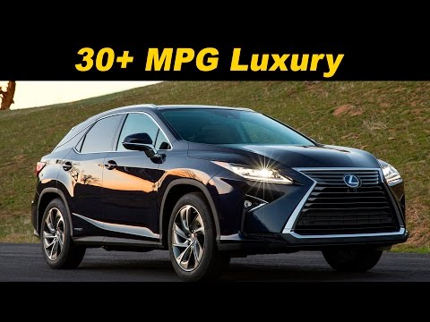 2016 / 2017 Lexus RX 450h Hybrid Review | DETAILED in 4K