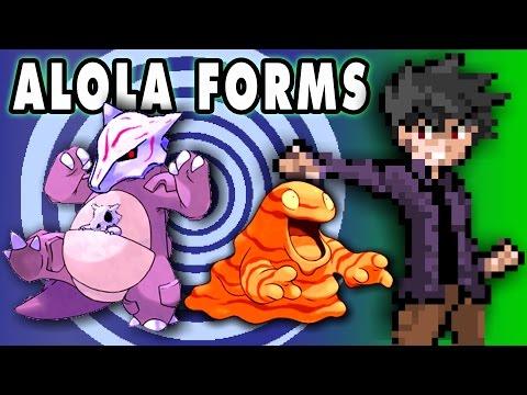 Top 5 Uniquely Viable Pokemon Alola Forms