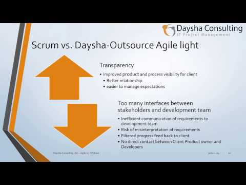 The challenges of using Agile with Offshore Partners