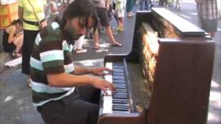 boogie piano in the street
