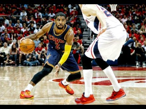Kyrie Irving Sick Crossovers & Handles In Slow-Motion
