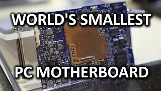 World's Smallest PC Motherboard & Broadwell NUC vs 2008 Skulltrail - CES 2015
