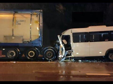 Уснул управляя автобусом: смертельное ДТП со стоящим на обочине грузовиком во Владимирской области
