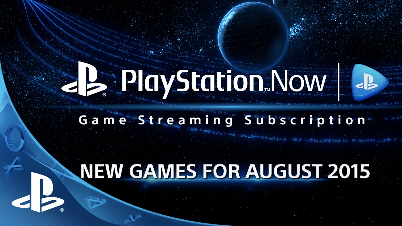 New Ps4 Games 2015 : Playstation now subscription new games for august