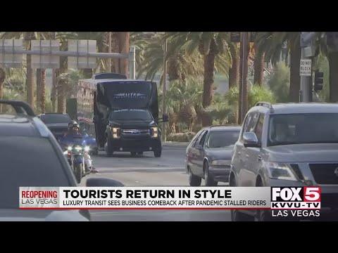 Luxury rides making a return on the Las Vegas Strip