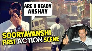 Sooryavanshi First Action Scene First Look Out | ATS Chief Akshay Kumar | Rohit Shetty