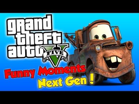 GTA 5 Next Gen Funny Moments ! - Tow Truck...