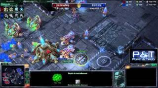 (HD395) JodmanZerg vs Goldenminerals - PvT - Starcraft 2 Replay [FR]