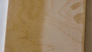 обработка дерева льняным маслом