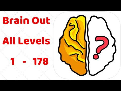 Brain Out All Levels 1 - 178 Walkthrough Solution