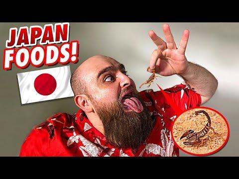 SKORPION ESSEN!!! Skuriles JAPANISCHES Essen ! Food Fun Challenge