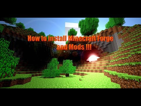 How To Install Minecraft Forge And Mods For All Versions Quick And Easy!!!!