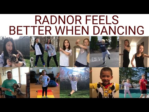 Radnor Feels Better When Dancing