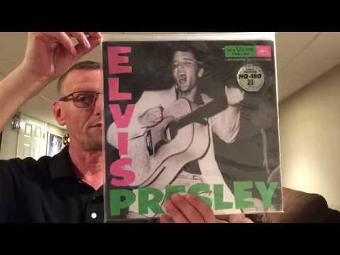 Elvis Presley Sealed To Revealed Debut LP Friday Music Blue VinylThe King's Court