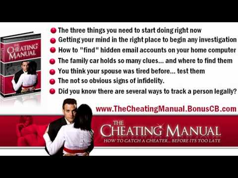 How to catch a cheating girlfriend signs