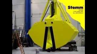 STEMM Clamshell Grab for BIOMASS