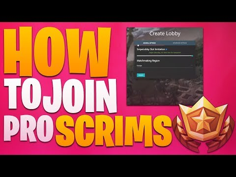 How To Join My Pro Eu Scrims | Discord link in description!