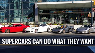 Supercars Go Ham In A Tunnel in NYC
